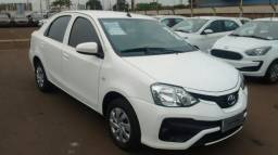 TOYOTA ETIOS SEDAN X 1.5 16V AT FLEX Branco 2017/2018 - 2017
