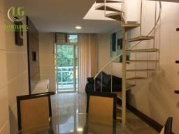 Cobertura com 1 dormitório para alugar, 90 m² por R$ 1.000/mês - Itacoatiara - Niterói/RJ