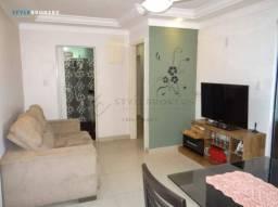 Apartamento no Residencial Terra Nova I com 3 dormitórios à venda, 72 m² por R$ 215.000 -