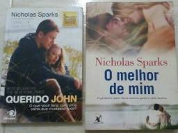 Livro Querido John E O Melhor De Mim - Nicholas Sparks