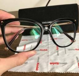 ae2b91f0479a3 Armação óculos grau Dolce   Gabanna 3294 preta original