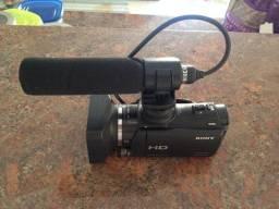 Filmadora sony hd profisional compacta alta definicao nova numca usada