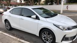 Corolla XEI 2019 novíssimo , branco perolizado