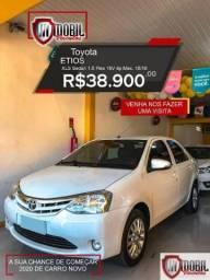 Toyota Etios XLS Sedan 1.5 Flex 16V 4p Mec. - 2016
