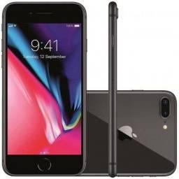 IPhone 8 Plus 256GB - Preto - Seminovo - Garantia pela loja