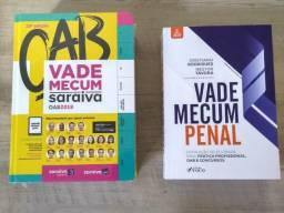 Vade Mecum OAB Saraiva 19ª Edição + Vade Mecum Penal