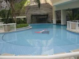 Cobertura para alugar, 180 m² por r$ 8.000,00/mês - catete - rio de janeiro/rj
