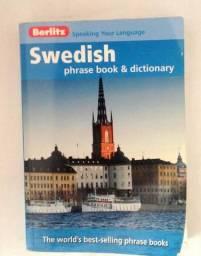 Sueco, livro de frases e dicionário em bom estado