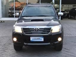 Toyota hilux 3.0 srv top 4x4 cd 16v turbo intercooler diesel 4p automático 2012 - 2012