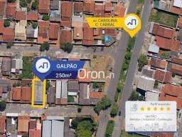 Galpão à venda, 250 m² por R$ 260.000,00 - Carolina Parque - Goiânia/GO