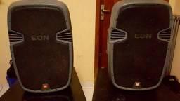2 Caixas de Som Jbl Eon 315 *trocar a placa