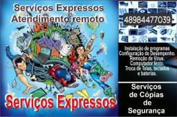 Comércio e Serviços de equipamentos de Informática.