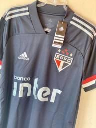 Camiseta masculina São Paulo TAM M original Adidas nunca usada