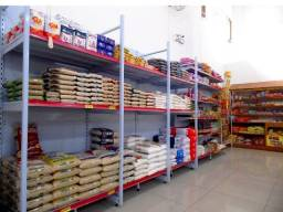 Instalação Comercial | Gôndolas, Estantes e Racks
