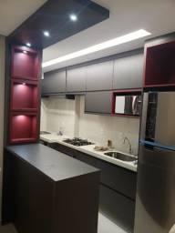 Vendo Lindo Apartamento no Condomínio Ville D Italia 2 Quartos Sendo 1 Suíte com Closet