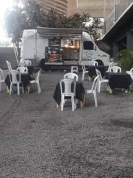 Van food Truck completo Plataforma de churrasco