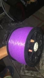 Carretilha média+3000 jds linha de nylon