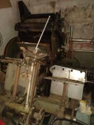 Máquina gráfica antiga para colecionador