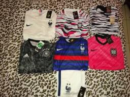 Camisas de futebol e kit de treino ????