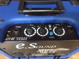 Amplificador p guitarra Wr Audio Steel 20gt Mixer Instrumentos Musicais