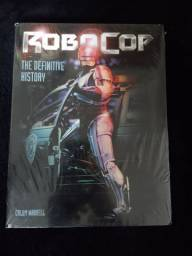 Livro Robocop The Definitive History Novo Lacrado