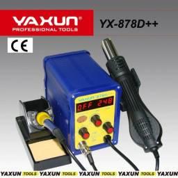 Estação de retrabalho yaxun 878D++ 220v
