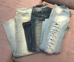 Calças jeans 30,00 (cada)