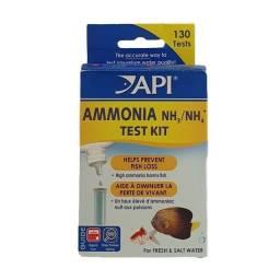 Teste Amônia Api 130 Testes Água Doce Salgada Aquário Peixe