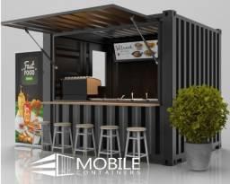 Lanchonete container, quiosque, hamburgueria, pasteleria para locação em Porto alegre