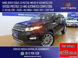 Land Rover Range Rover Evoque 2.0 Prestige 4WD 16v 4p Automática C/ Multimídia