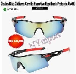 Óculos Bike Ciclismo Corrida Caminhada Vôlei Esportivo Proteção Uv400 Diversos Modelos
