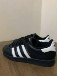 Tênis Adidas Superstar Preto - Original