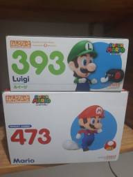 Título do anúncio: Mario e Luigi ORIGINAIS NENDOROID