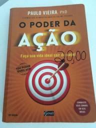 Livro O Poder da Ação, de Paulo Vieira. E outros Livros tb!
