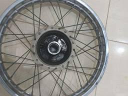 Roda traseira cg fan 150