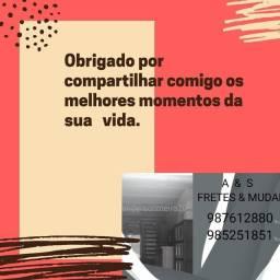 FRETE FRETES E MUDANÇAS BARATO EM TODOS OS BAIRROS