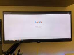 Monitor ultrawide 25um58g LG