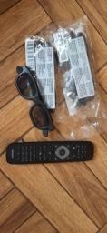 Título do anúncio: Controle Philips com óculos 3D