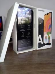 Samsung A01 NOVO - Melhor Preço da Região!