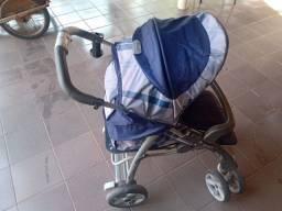 Título do anúncio: Carrinho bebê Burigotto Linea semi novo
