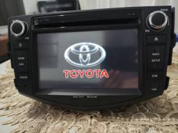 Título do anúncio: Central multimedia original Toyota REV4 2006 a 2012