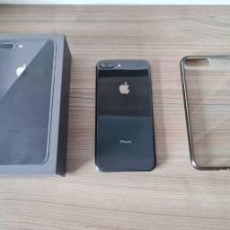 iPhone 8 Plus 64GB Cinza na Caixa com Todos os Acessórios