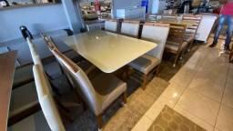 Mesa para espaços pequenos mesa pintura laka e madeira