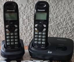 Título do anúncio: Telefone sem fio c/ ramal