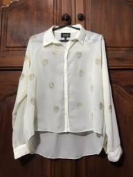 Título do anúncio: Camisa off white Azevin