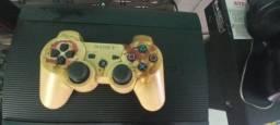 PS3 semi novo (travado)