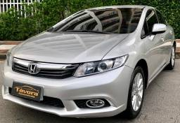Honda Civic 2014 2.0 LXR Automático TOP c/ Couro Extra