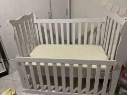 Berço (mini cama) com colchão