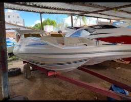 Barco jangada, motor 70HP, super conservado, revisado