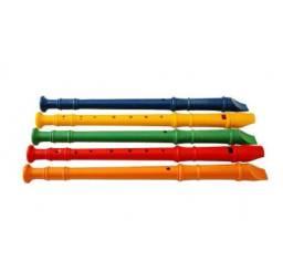 Flauta Doce Colorida Infantil Musical Festa Musicalidade